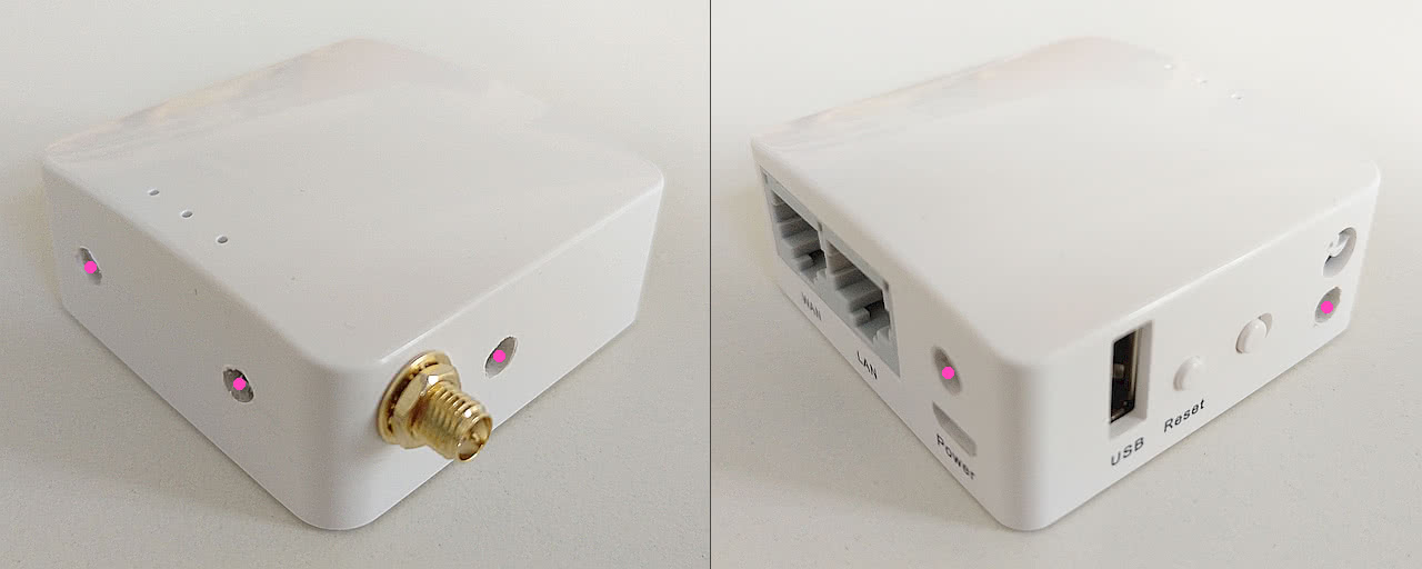 GL-AR150 mit PoE Platinen Layout/Leiterplatte